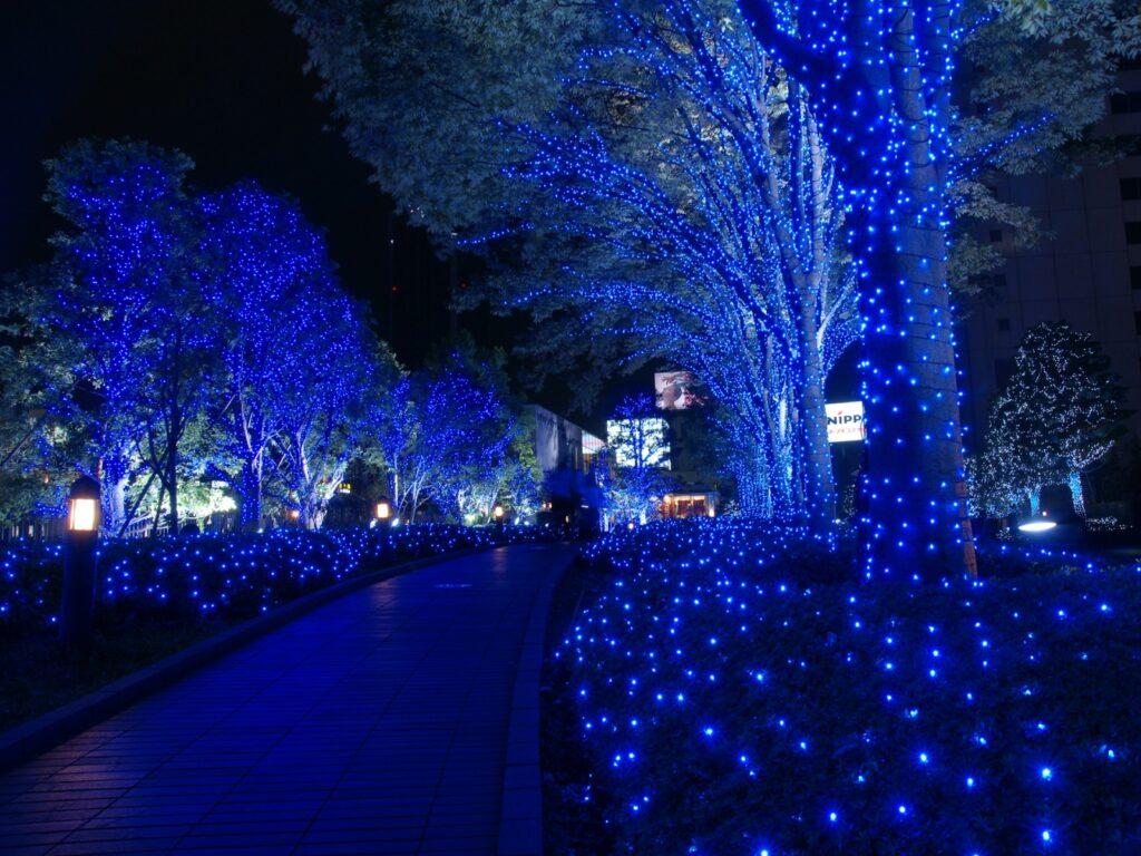 10 karácsonyi helyszín ahol a milliomosok előszeretettel töltik az idejüket tokió esti fényben