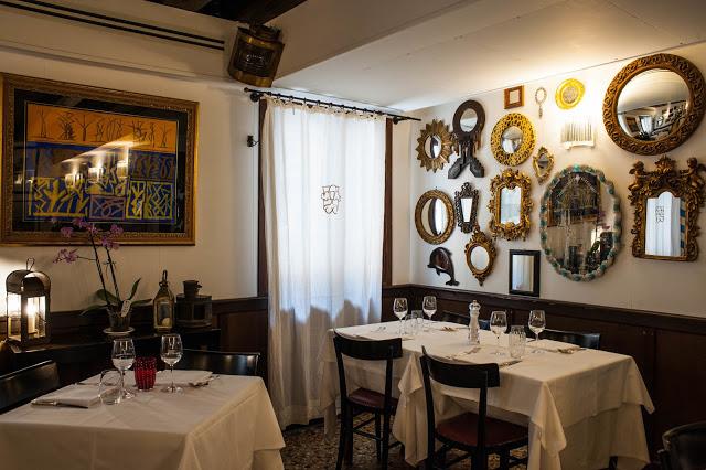 Prémium étterem Velencében - Antiche Carampane