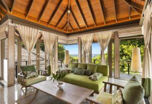 Kilátás az oceánra- Maldív szigetek- luxus-bungaló