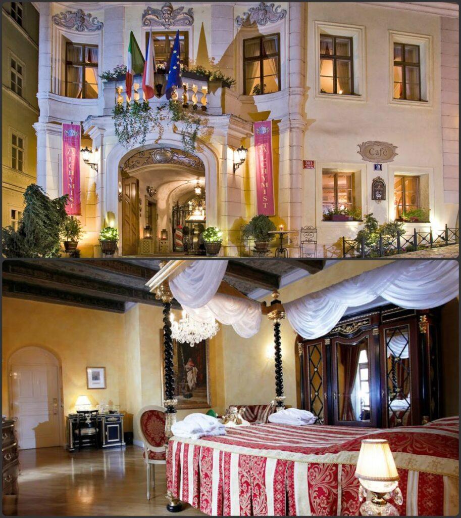 Alchymist Grand Hotel Spa butik hotel Prága