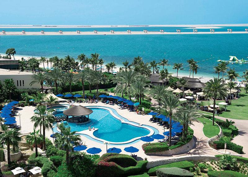 Így pihennek a gazdagok. All inclusive nyaralas Dubaiban a JA Jebel Ali Beach komplexumban.
