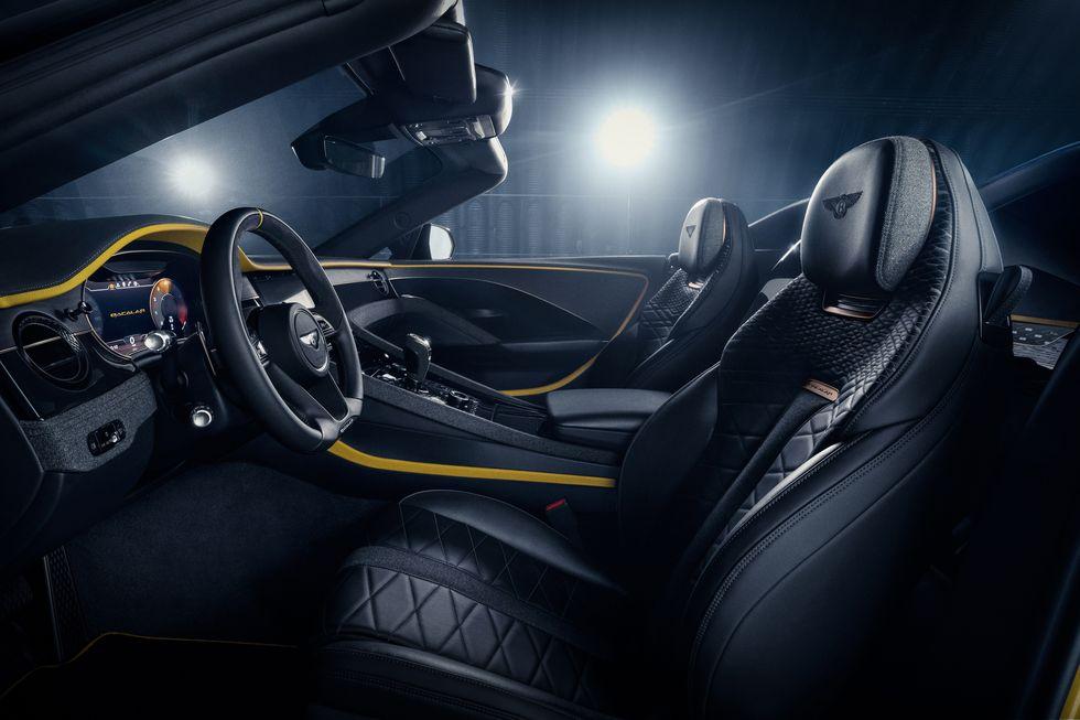 Bentley Bacalar Mulliner 2020 belseje beltér prémium luxus auto