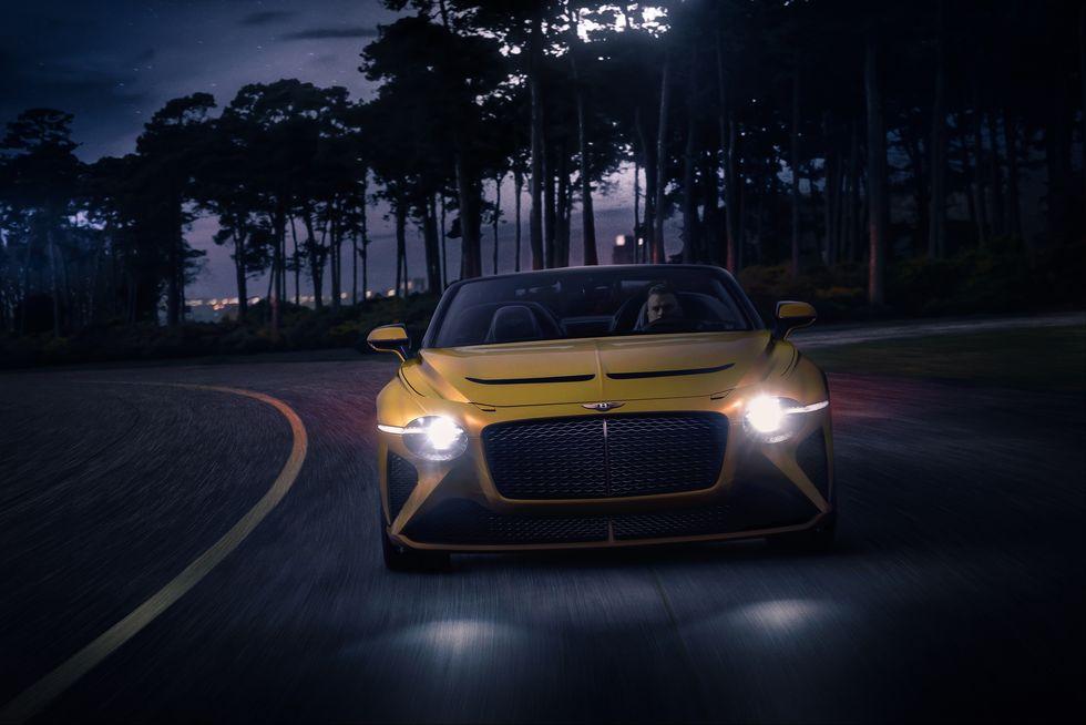 Bentley Bacalar Mulliner 2020 elolrol premium luxus auto