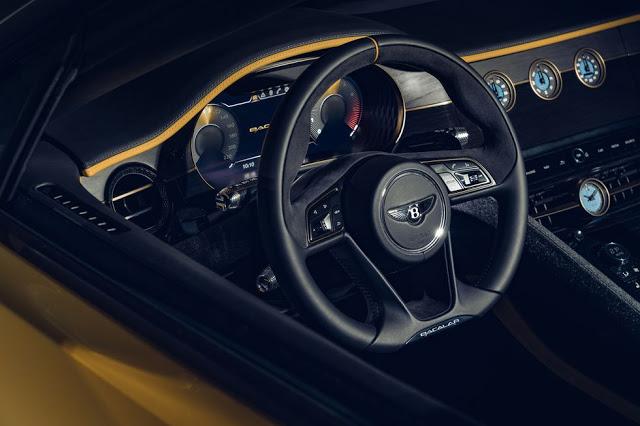 Bentley Bacalar Mulliner 2020 műszerfal prémium luxus auto