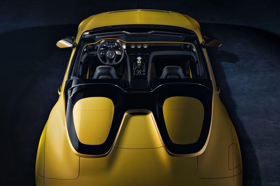 Bentley Bacalar Mulliner 2020 nyitott tetővel prémium luxus auto