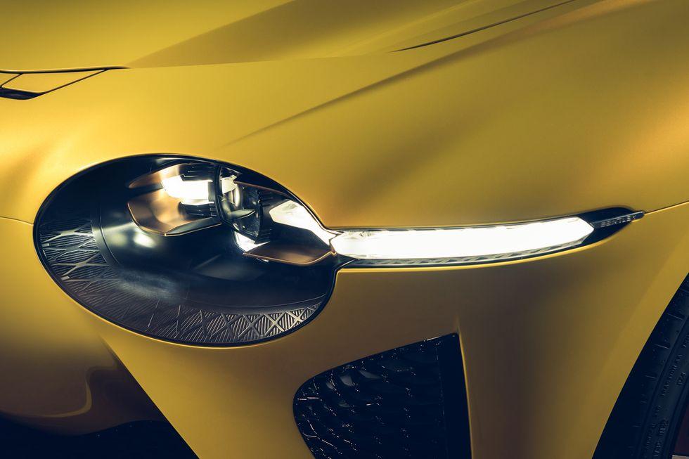 Bentley Bacalar Mulliner 2020 oldalsó fénycsík prémium luxus auto