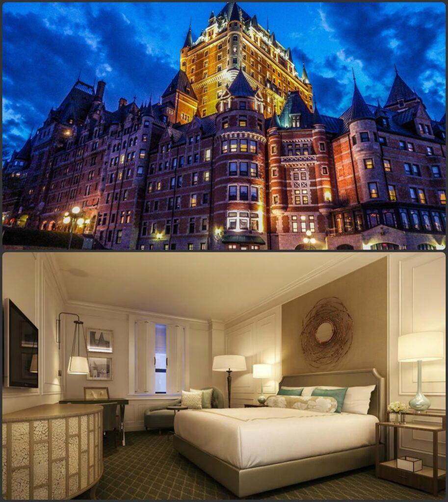Fairmont Le Chateau Frontenac kanadai luxus szálló legtöbbet fényképezett a világon