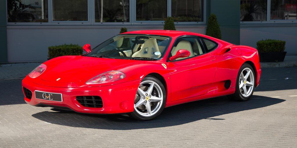 Ferrari 360 Modena F1 luxus autok 20 millio alatt magyar milliomos ferfiak klubja
