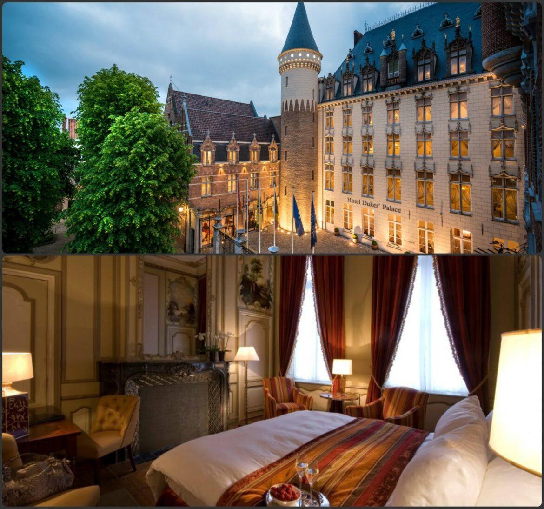 Hotel Dukes Palace luxusszálloda Belgiumban