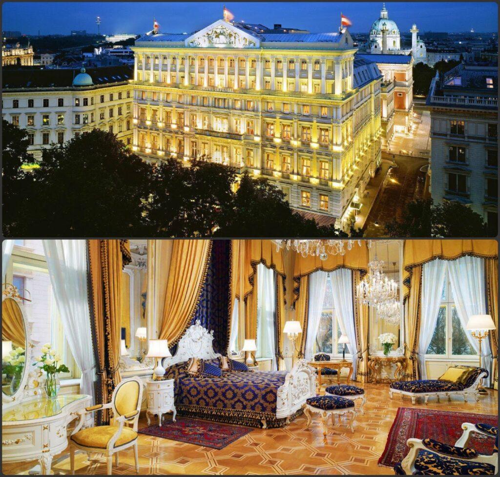Hotel Imperial Bécs karácsonyi helyszín prémium luxus szálloda