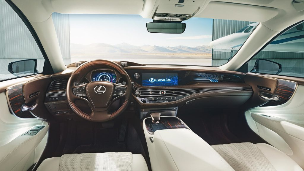 Luxusautók 2018 Lexus-LS-500-belso