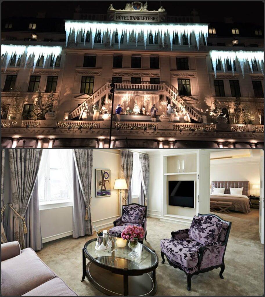Luxusszálló Dánia Koppenhága Hotel D Angleterre