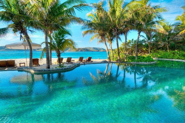 Necker sziget Beach exkluziv luxus nyaralas mmf klub