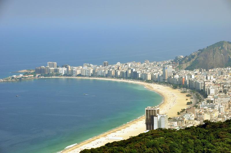 Copacabana - vilag leghiresebb strandjai