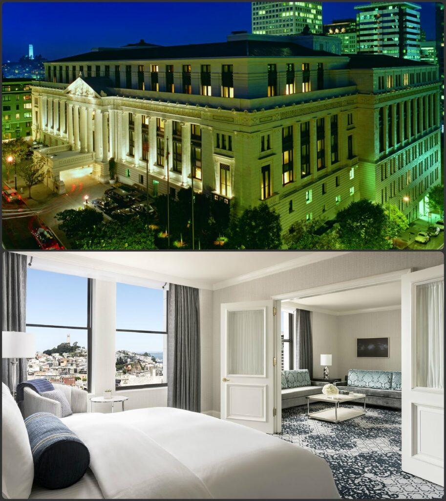 Ritz Carlton San Francisco luxusszálloda személyre szabott szolgáltatásokkal