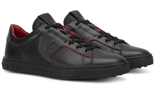 Ferrari cipő Tod's for Ferrari Men's leather sneakers - milliomos élet - luxus - prémium - exkluzív - presztízs - gazdag