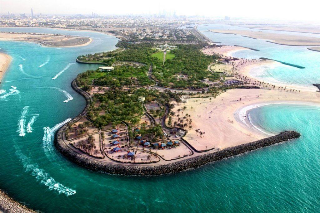 dubai strandok luxus utazas milliomos gazdag elet Al Mamzar Beach Park
