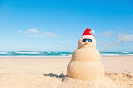 tengerparti mikulás télből nyárba karácsony