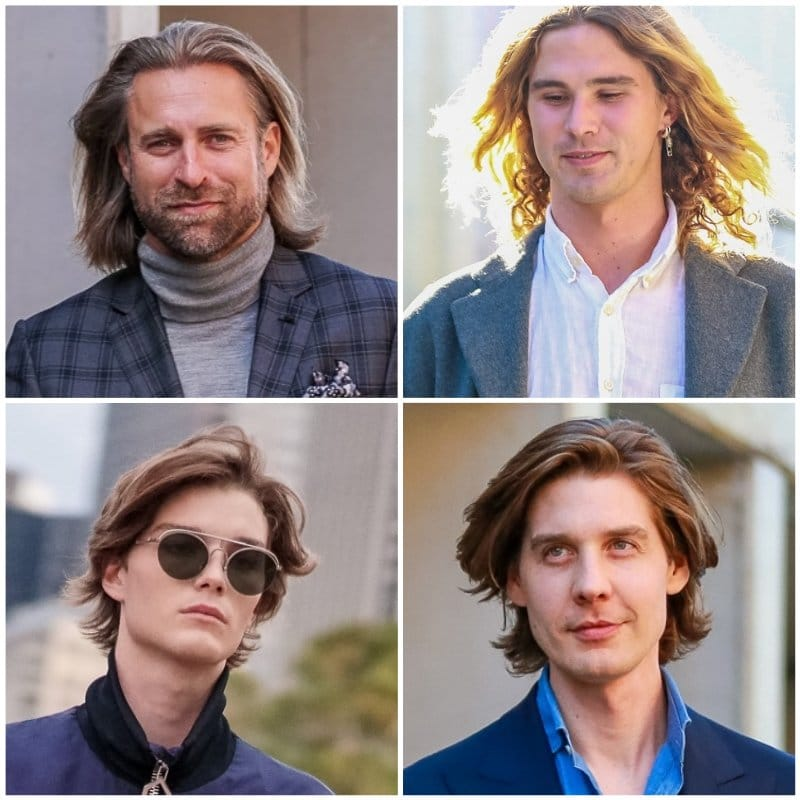 Trendi férfi haj 2020 - Hullamos - igényes férfiak