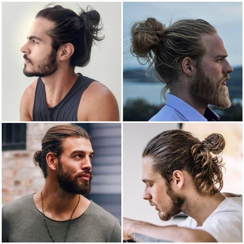 Trendi férfi haj 2020 - Konty - igényes férfiak