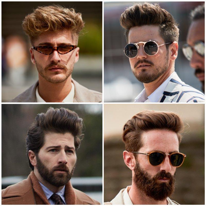 Trendi férfi hajak 2020 - Pompadur - igényes férfiak